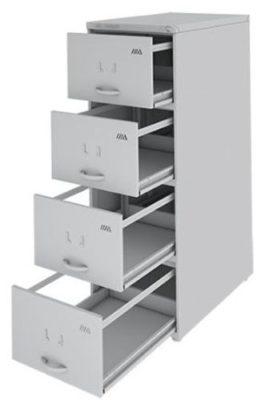 Arquivo para pasta suspensa com gavetas de Aço